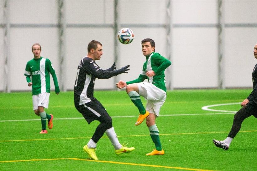 GALERII: Tallinna FC Flora ei jätnud Infonetile võimalust