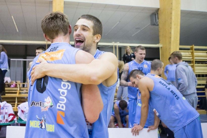 Pärnu ja Rapla korvpallimeeskonnad said võidulisa