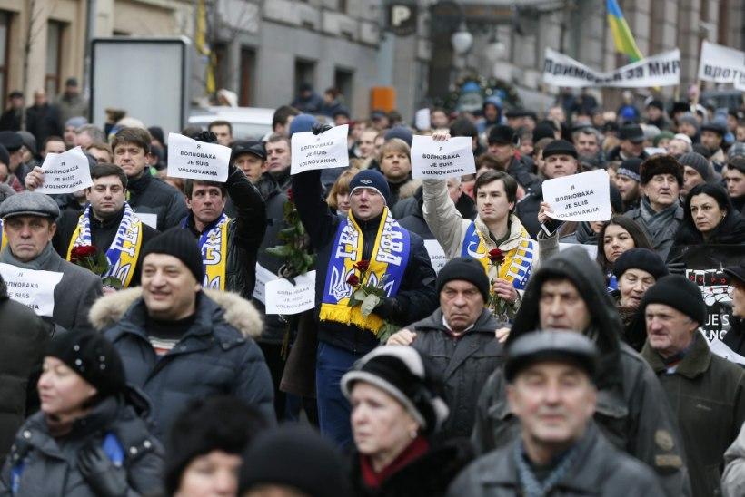 Ukraina mälestas Donbassi ohvreid
