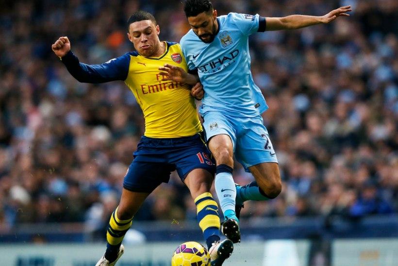 GALERII: Arsenal lõpetas City ülipika kaotuseta seeria