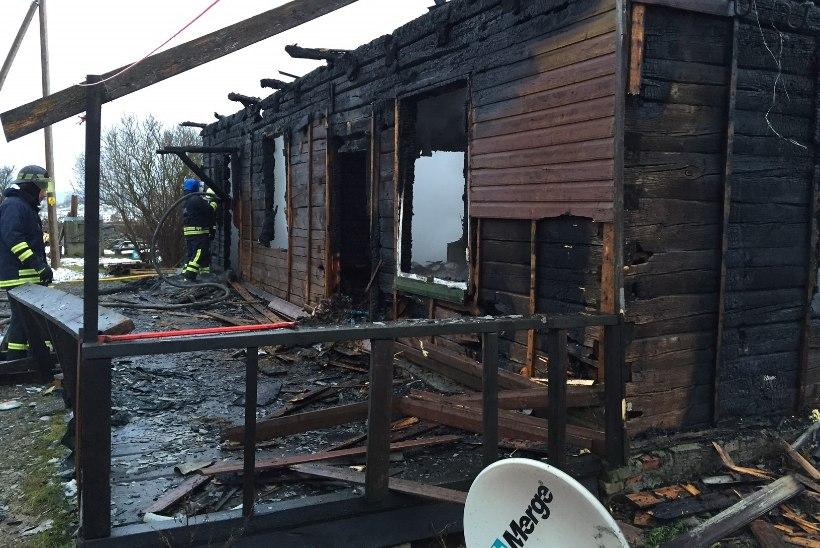 ÕHTULEHE VIDEO JA FOTOD: Laekveres hukkusid tulekahjus naine ning tema kaks väikest last
