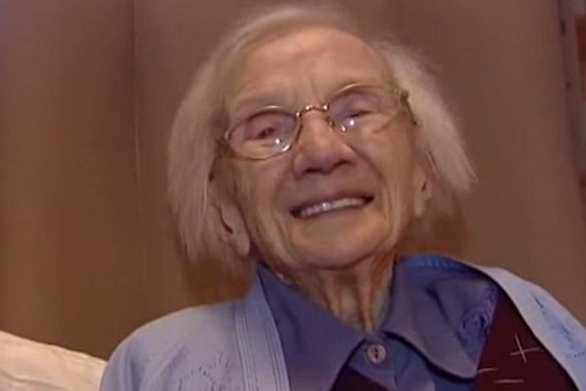 """109aastase naise pikaealisuse saladus: """"Olen palju liikunud, korralikult putru söönud ja meestest hoidunud."""""""