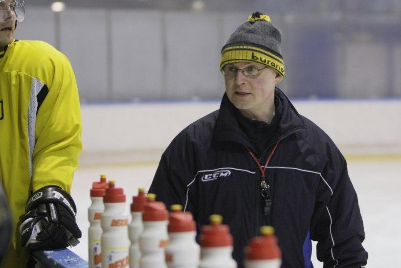 Eesti hokikoondise uus peatreener on Ismo Lehkonen