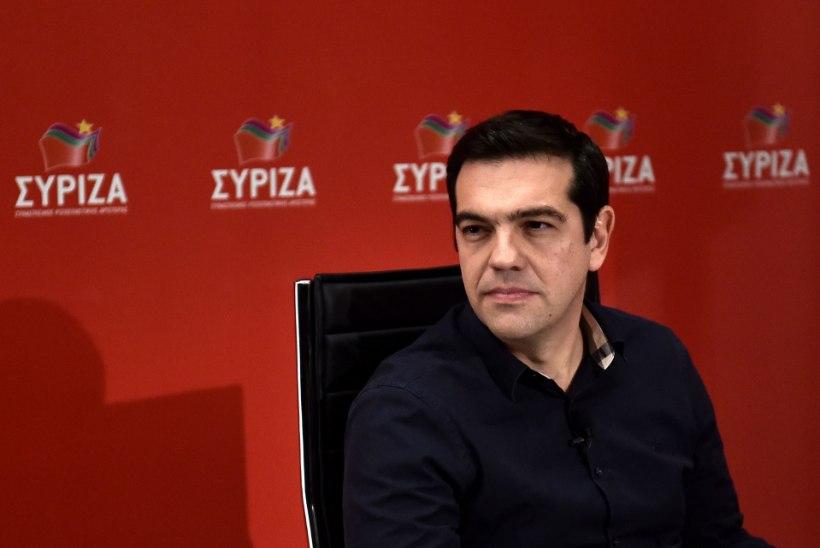 """Tsipras: """"Vasakpoolsete tund on tulnud."""""""
