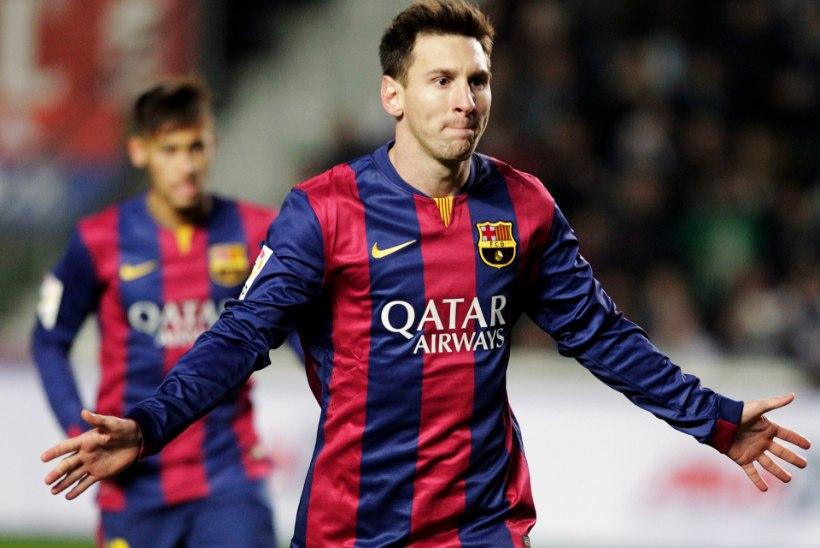 GALERII: Hispaania suur kolmik oli edukas, Barcelona staarid lustisid nõrgema arvel