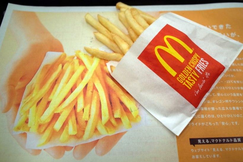 VIDEO: millest on valmistatud McDonald'si friikartulid?