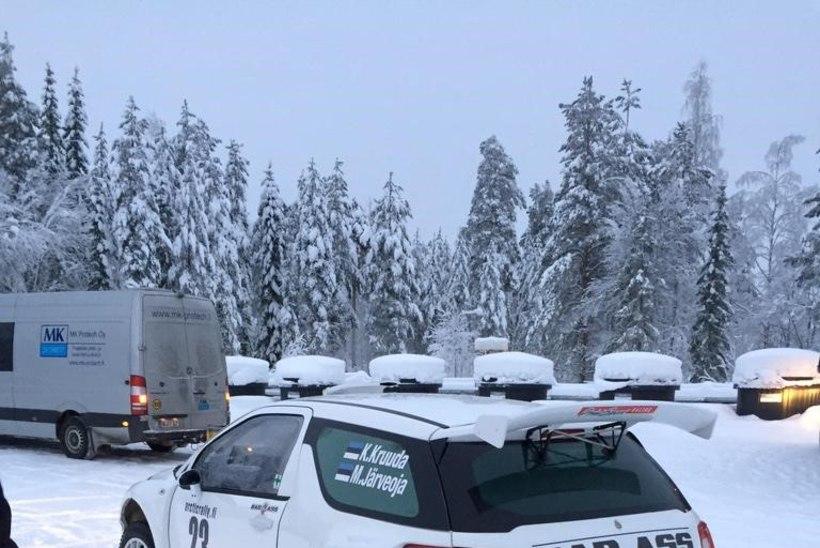 Kruuda katkestas Soomes liidrikohalt