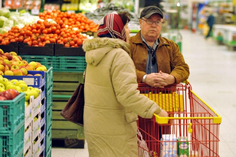 Soomlaste ostukorv kallines 11 aastaga kolmandiku võrra