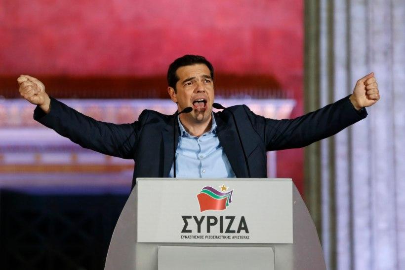Tsipras nimetati Kreeka peaministriks