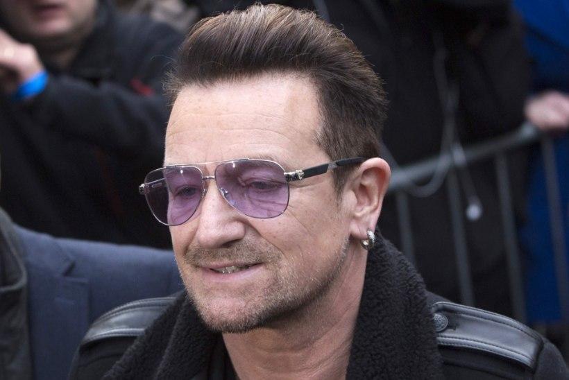 Bono käsi jäädavalt tuksis?