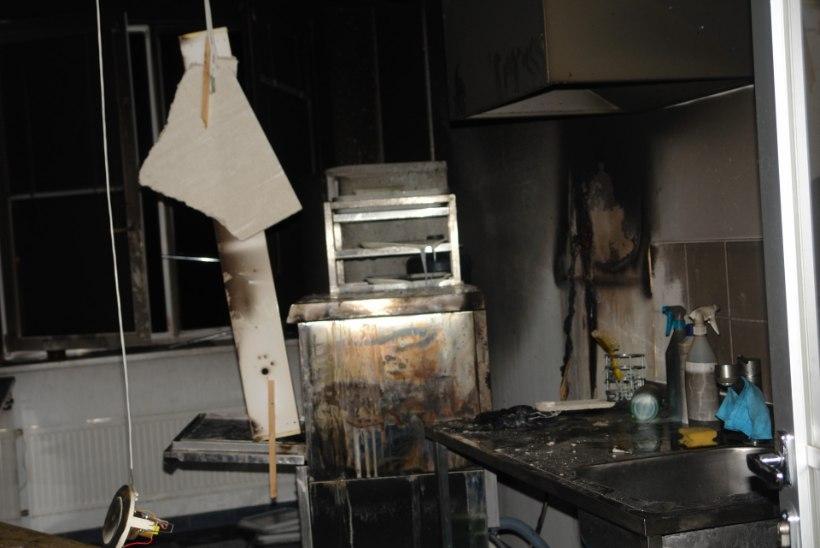 FOTOD: Pärnu haigla seitsmendal korrusel puhkes tulekahju