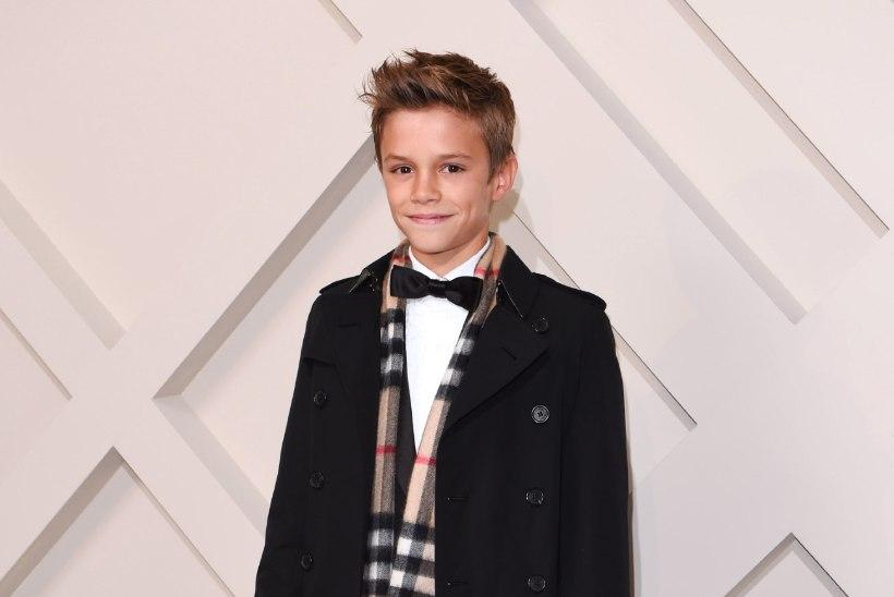 Väike Beckham on stiilsemaid mehi