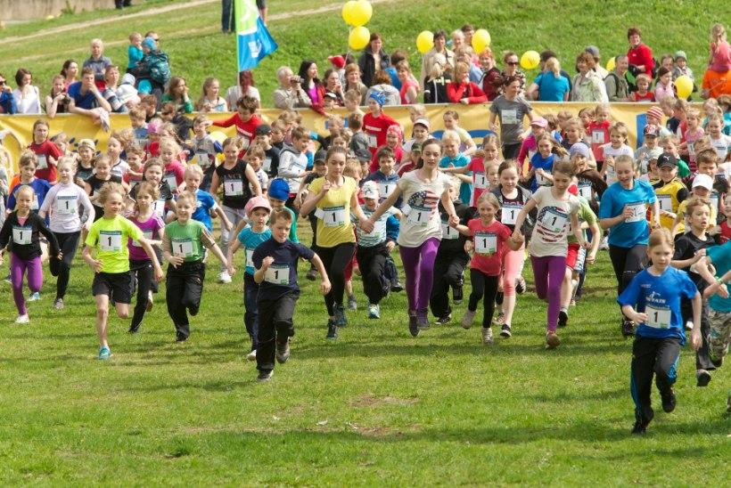 Eesti laste kehaline aktiivsus ei ole tervise säilitamiseks piisav