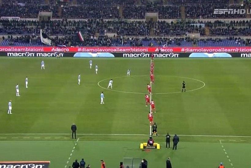 VIDEO: Itaalia tipptiim üritas vastaseid erakordse taktikaga haneks tõmmata. Marko Kristal: treener on vist liiga palju NFLi vaadanud