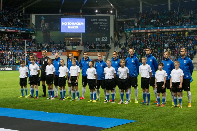Eesti meeste jalgpallikoondis tõusis FIFA edetabelis