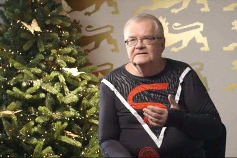 Jõulutervituse raha eest saaks süüdata kõik linna tänavatuled