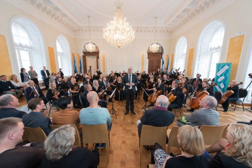GALERII | ERSO andis Toompea lossi Valges saalis muusikapäevale võimsa akordi