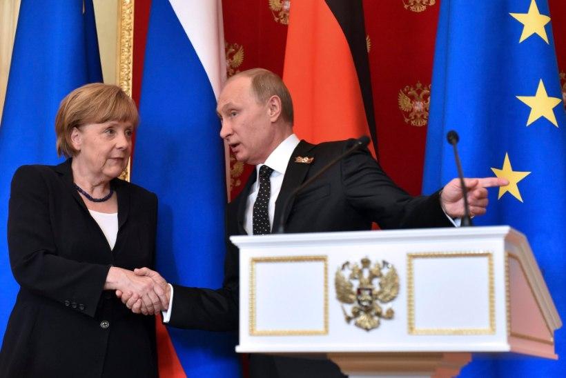 Merkel: Süüria kodusõda on võimalik lõpetada ainult Venemaa abiga