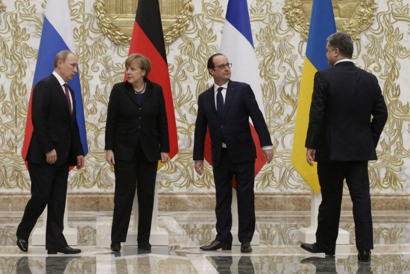 Ida-Ukraina rindel valitseb juba kuu aega suhteline vaikus