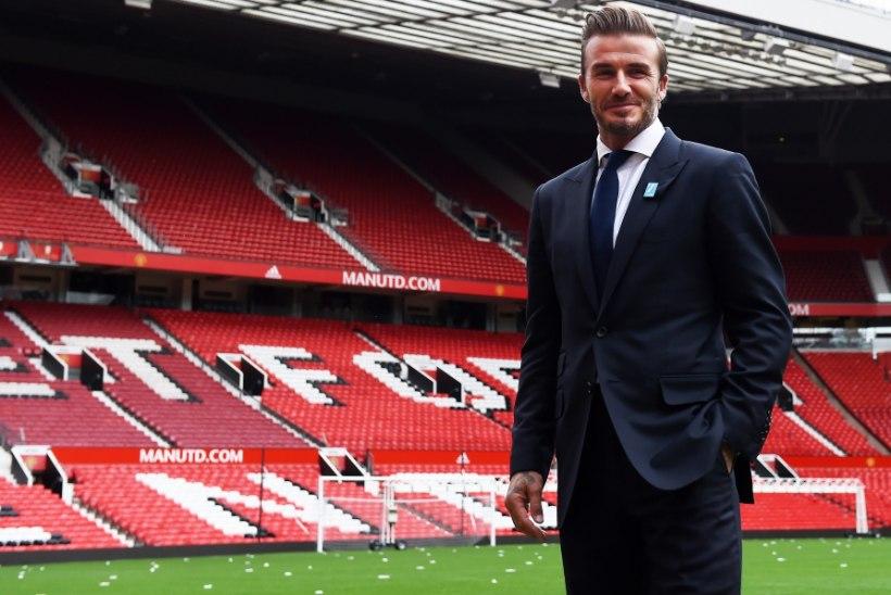 David Beckham avalikustas, millal ta viimati värava lõi