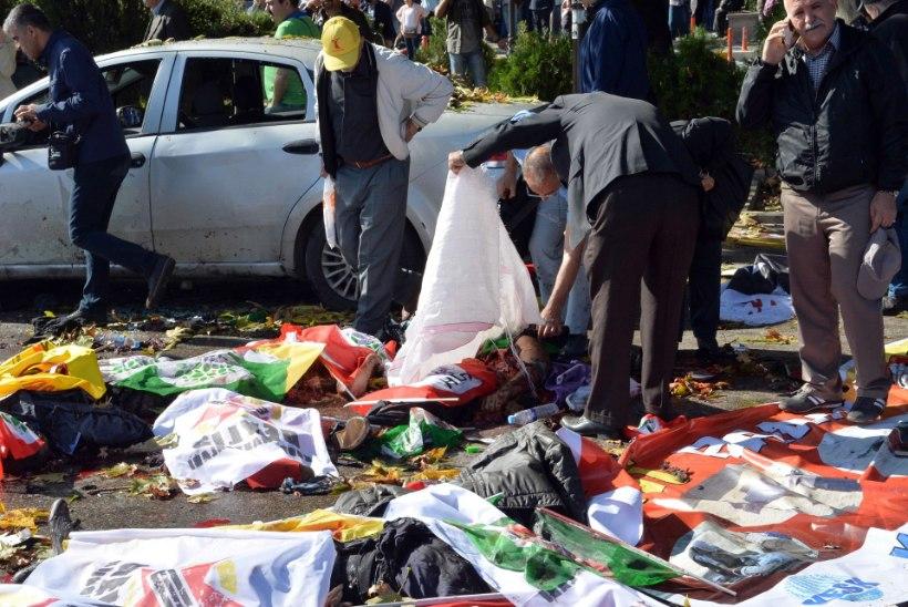 GALERII ja VIDEO   Ankaras plahvatas pomm, vähemalt 86 inimest on saanud surma