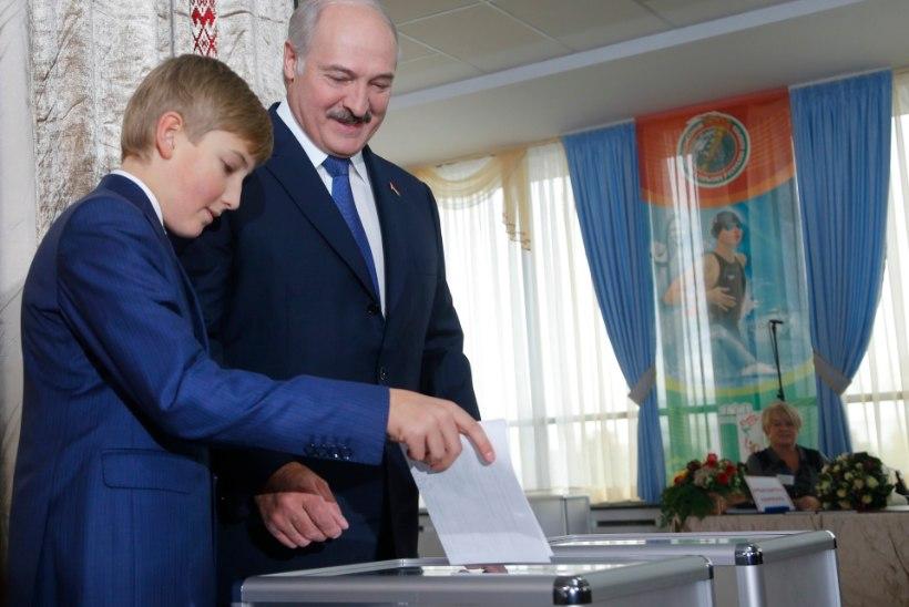 Valgevene presidendivalimiste tulemused olid võimsalt Lukašenka kasuks