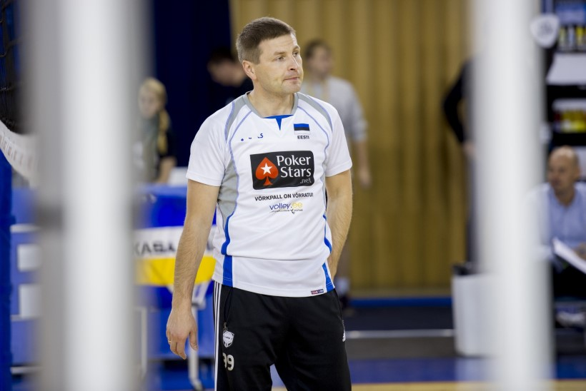Pagulased ei luba võrkpalliliidu presidendil Pevkuril eestlaste play-off'i nautida