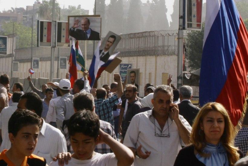 Damaskuses tulistati Venemaa saatkonda