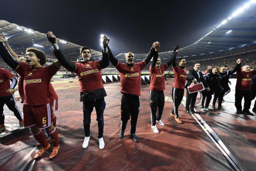 SÄUTSUD   Belgia vutikoondis teeb järgmises FIFA edetabelis ajalugu