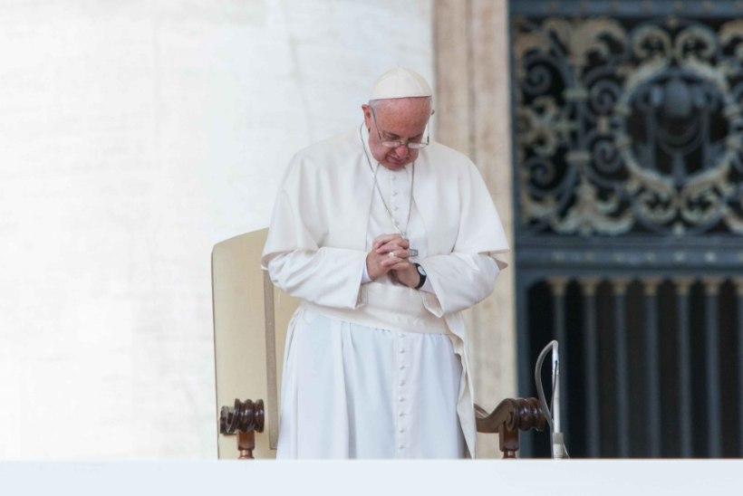 Paavst palus katoliku kiriku nimel andestust