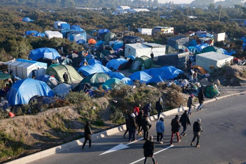 Heategevusfond lõpetas Calais' laagri toetamise