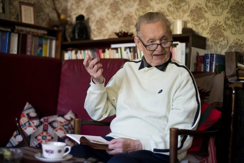 """Enn Vetemaa: """"Lausa piinlik, et 80aastane mees veel luuletab."""""""