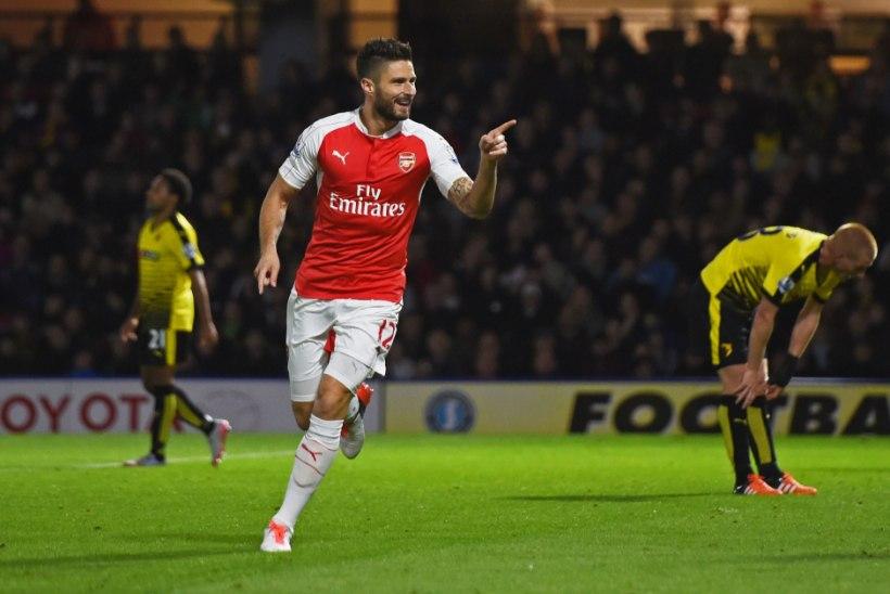 GALERII | Võimas Arsenal pikendas Watfordi omapärast seeriat