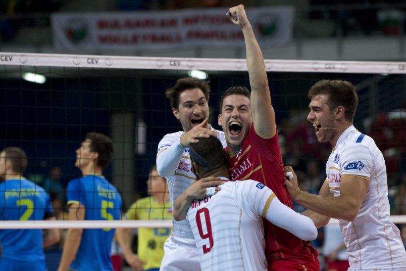 GALERII | Prantsusmaa võrkpallikoondis võitis ajaloo esimese EM-kulla!