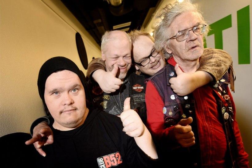 Soome punkbänd Pertti Kurikan Nimipäivät tegi kondoomilaulu
