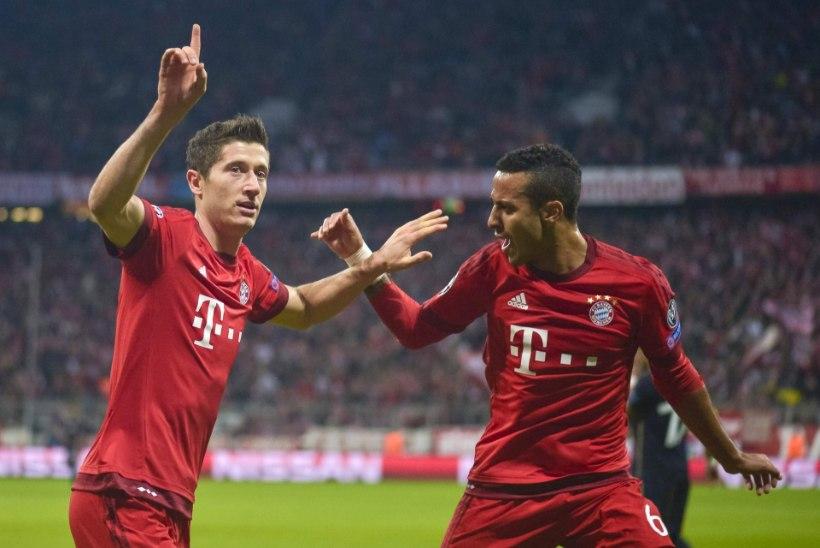 Kas Bayern tõukab Arsenali kuristikku?