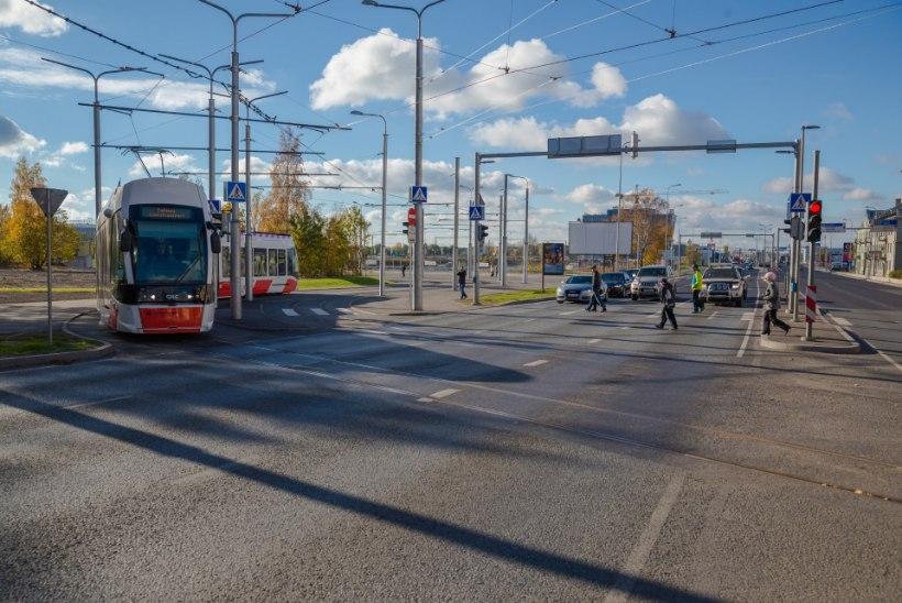 GALERII   Ehitustööd 3. ja 4. trammiliinil on lõpetatud