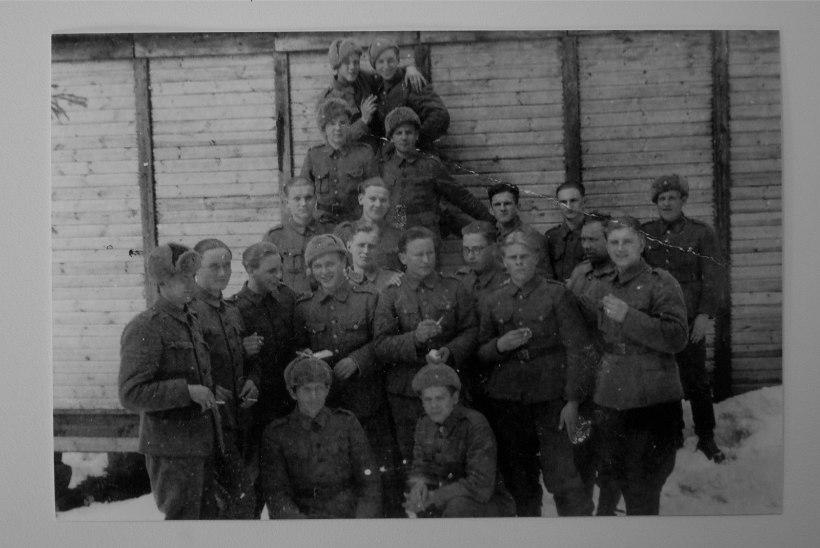 Soomepoiste 1944. aasta viimane lahing Tallinna eest: puu otsast püssidega Vene tankide pihta tuld