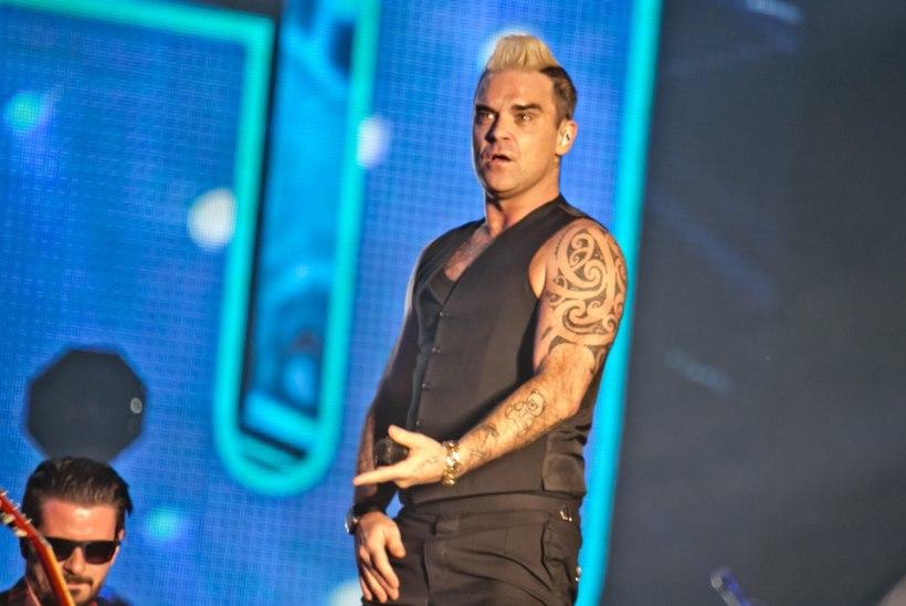 Robbie Williams kaotab kilosid superdieedi abil