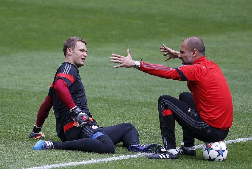 Pep Guardiola: me ei kaotanud Manuel Neueri tõttu!