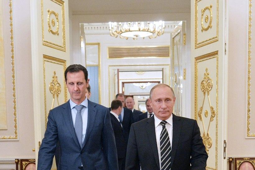 Süüria president käis salaja Moskvas Putiniga kohtumas