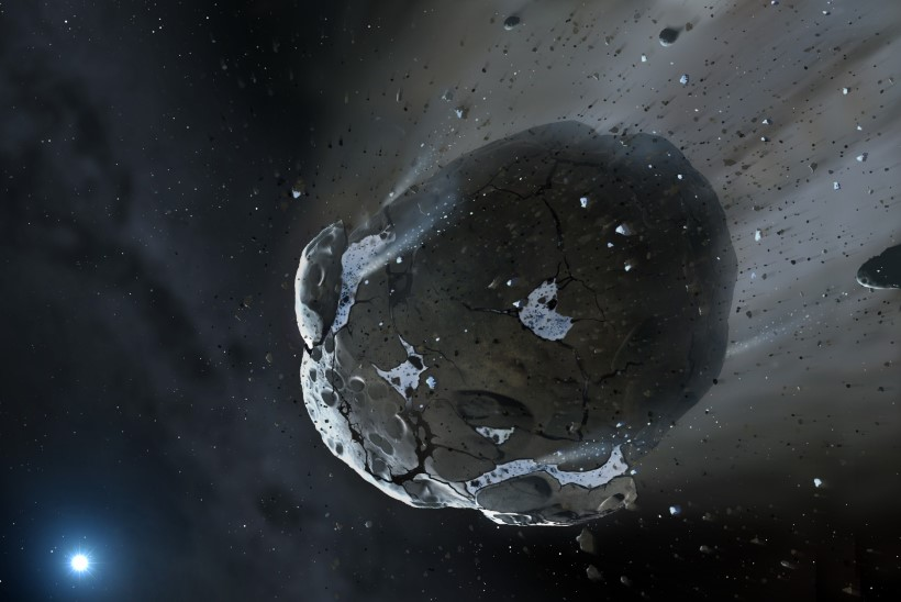 Maale läheneb suure kiirusega 10. oktoobril avastatud asteroid