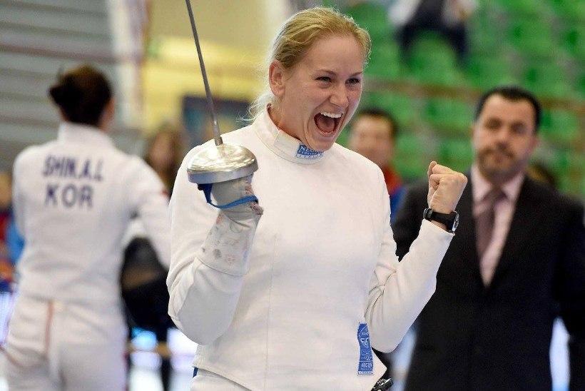 FOTOD | NII NAPP! Kristina Kuusk kaotas MK-etapi finaalis ühe torkega!