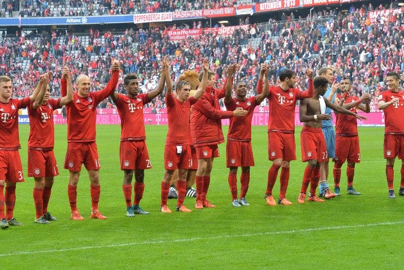 Müncheni Bayern jõudis ajaloolise tähiseni