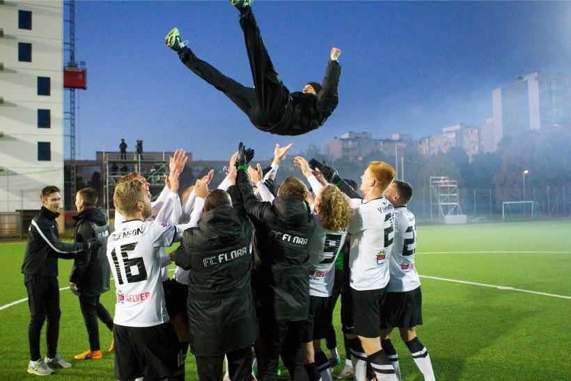 VIDEO | FC Flora võitis kümnendat korda Eesti meistritiitli!