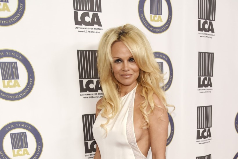 PIILU VÕI ÄRA PIILU: 48-aastane rinnakas Pamela Anderson näitab kuis jaksab