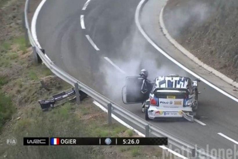 VIDEO | Ogier sõitis viimasel katsel rajapiirdesse ja kinkis võidu Mikkelsenile