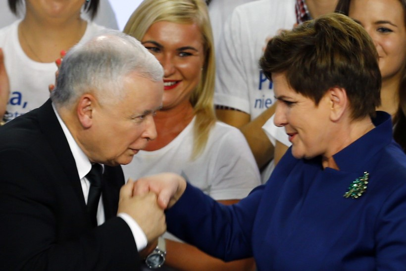 "Poola naispoliitik: ""Minu nimi on Szydło. Beata Szydło."""