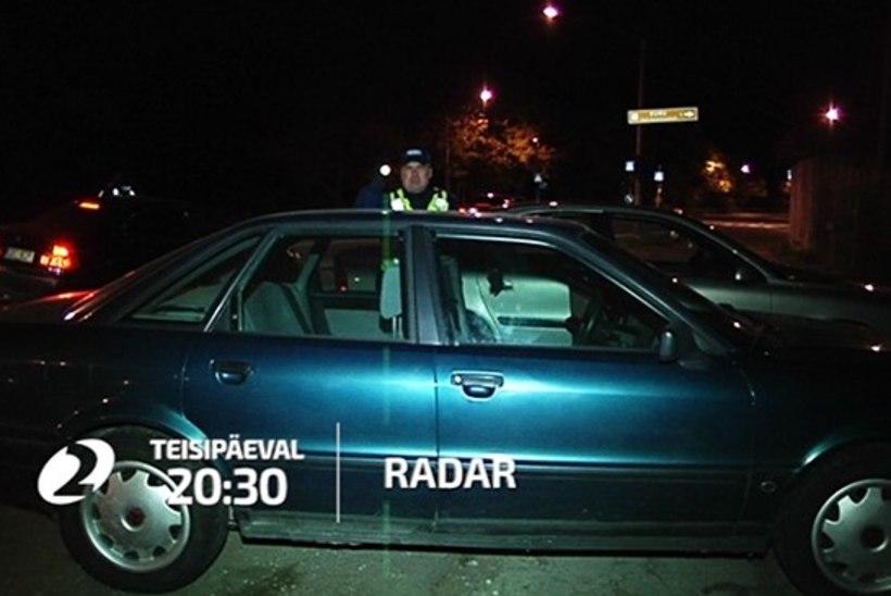 """""""RADARI"""" VIDEO   Eesti teedel on üha rohkem narkouimas autojuhte"""