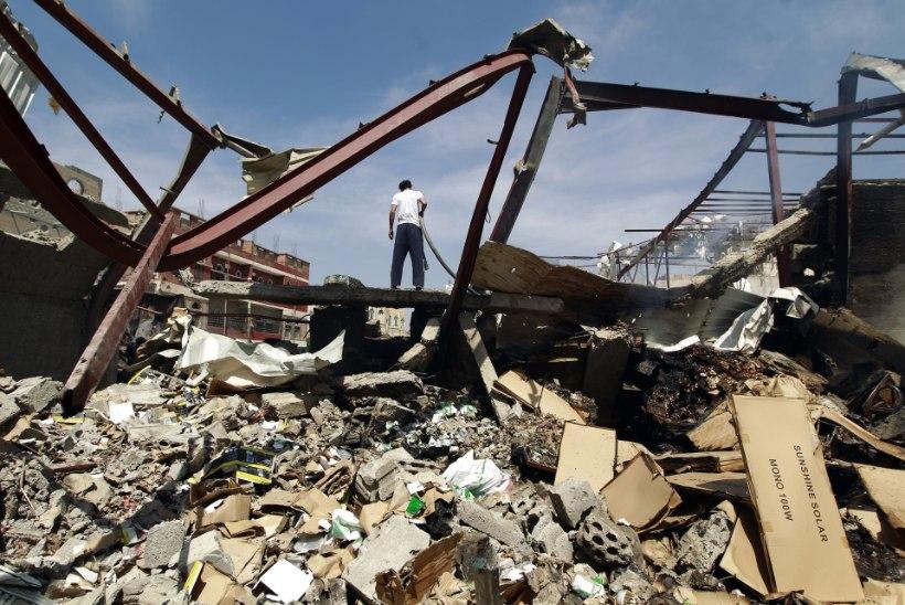 Õhurünnakus hävis Piirideta Arstide haigla Jeemenis
